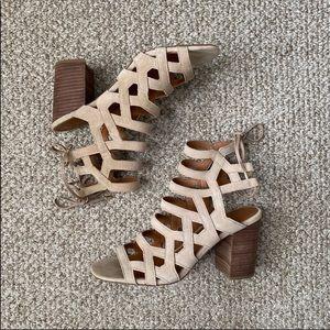 Franco Sarto Lace Up Heels